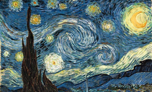 noite estrelada gogh ufologia ciencia