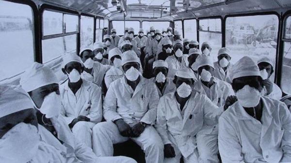 chernobyl liquidadores bronceado radiactivo ciencia