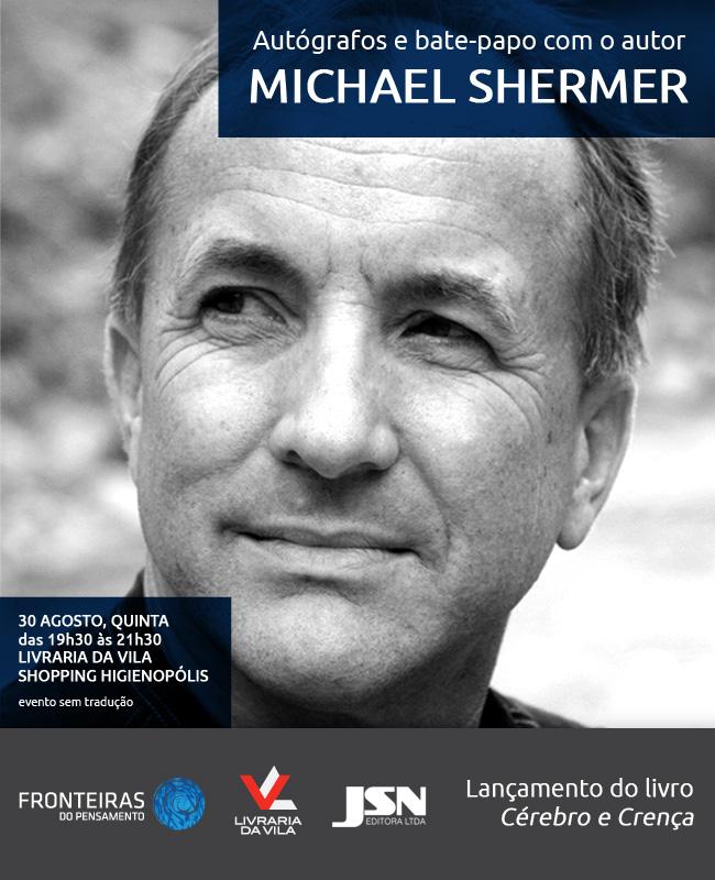 convite Michael Shermer