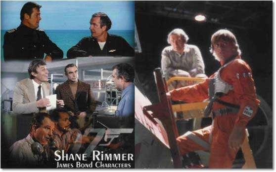 Shane Rimmer em 007 e Star Wars