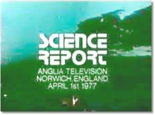 """Science Report, 1 de abril de 1977"""