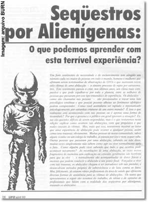 Revista UFO, n. 21, pág. 6 (abril de 1993)