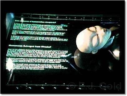Reprodução em cera de uma escultura original de L. Corriveau exibida em Strange, Strange World, 1978-1981